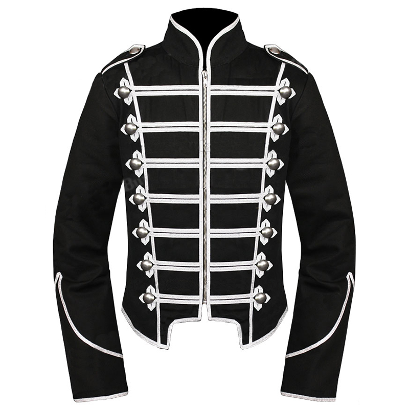Romance Military Silber My Parade Chemical Jacke Schwarz qzpSUMGV