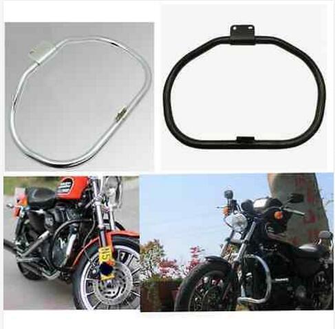 motorcycle Engine Guard Crash Bar For Harley Davidson Sportster XL883 XL1200 2004-2014-- Plating color