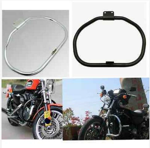 аварии двигателя мотоцикла бар гвардии для Harley Дэвидсон Спортстер XL883 XL1200 2004-2014-- цвет Плакировкой