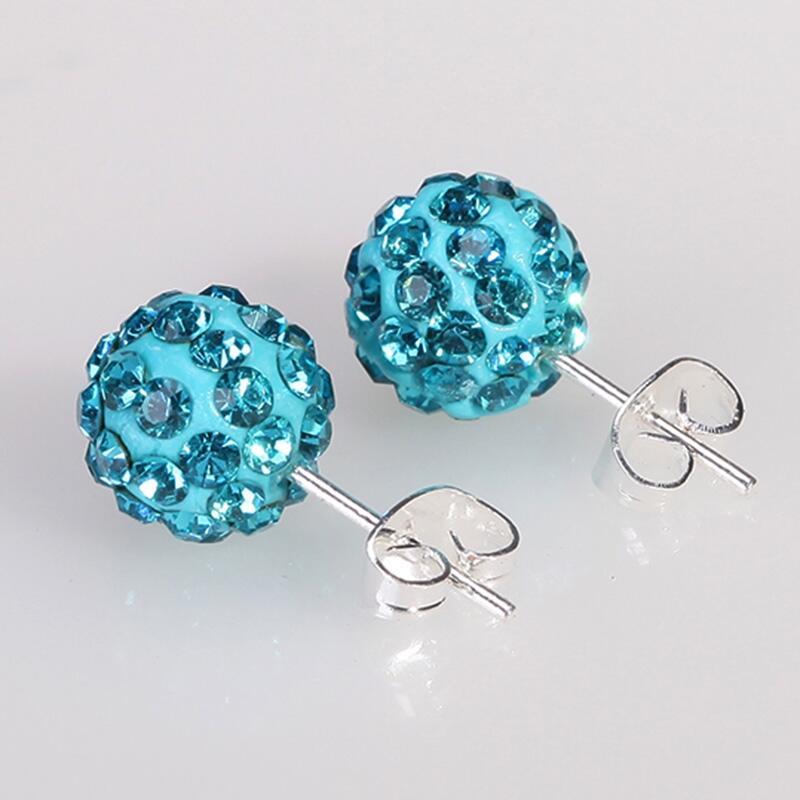 Fashion New Glass Stud Earrings Gold Crown Hourglass Stud Earrings Double Pearl Earrings Brincos Crystal pendientes E1513-E1515