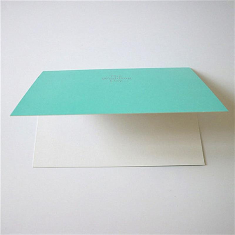 Niebieska Karta Zapraszająca 30 sztuk Elegancki Laserowo Wycinane - Materiały świąteczne - Zdjęcie 5