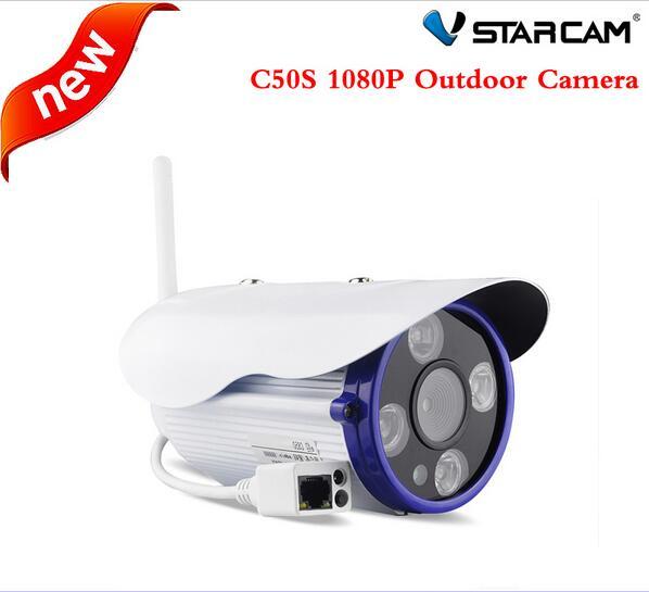 Vstarcam C50S H 264 IR Bullet IP Camera Wireless 1080P Outdoor Waterproof IP66 Bullet Motion Detectio