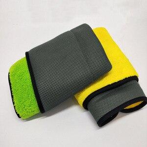 Image 4 - 1pc ręcznik z mikrofibry czyszczenie samochodu narzędzie myjnia samochodowa Detailing poliester pielęgnacja samochodu polerowanie ręcznik do suszenia 2019 nowy produkt