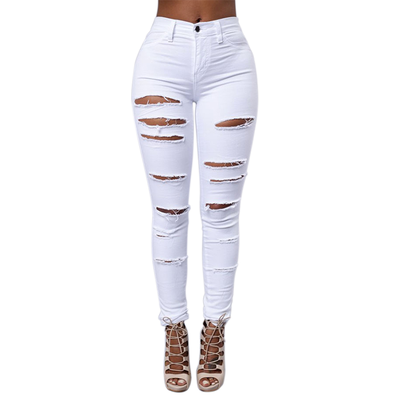 Aliexpress.com : Buy Straight Ripped Jeans For Women Vintage ...