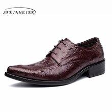 Mens formal shoes leather men dress oxford shoes for men dressing wedding business office shoes lace up male zapatos de hombre