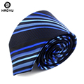 Silk Tie Brand Slim Ties for Men Wedding Party Necktie Striped Gravatas Masculinas Jacquard Seda Corbatas Navy Cravate Homme Hot