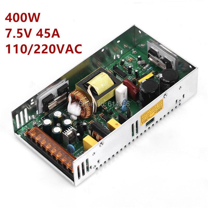 1PCS 7 5V 350W 400W Switching Power Supply 7 5V Power Driver for CCTV camera LED