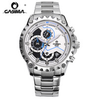 CASIMA Brand Fashion Watches Men Business Casual Charm Sport Multi Function Quartz Watch Waterproof 100m CR