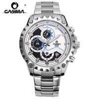 CASIMA Brand Fashion Watches Men Business Casual Charm Sport Multi Function Quartz Watch Waterproof 100m CR