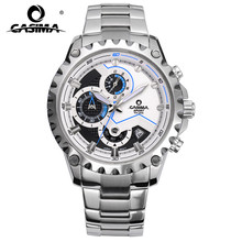 CASIMA brand fashion watches men business casual charm sport multi-function quartz watch waterproof 100m CR-8203