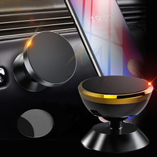 Smartphone Magnetic Car Phone Holder 360 Degree Dashboard Magnet Mobile Phone Holder Stand in Car Universal Phone Support Mount(China)