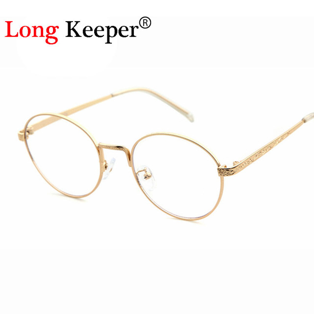 048f38d3192a Long Keeper 2017 New Style Oval Design Eye Glasses Frames for Women Reading  Clear Glasses Eyewares