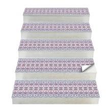 Горячие 2 шт богемный стиль лестницы наклейки, наклейки на стену Diy пол стикер, подходит для туалета, кухни, лестницы и т. Д. En