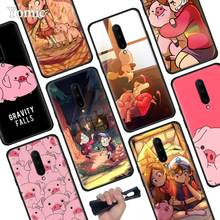 Gravity Falls pig Black Soft Case for Oneplus 7 Pro 7 6T 6 Silicone TPU Phone Cases Cover Coque Shell
