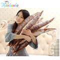 Novelty Simulation Saury Plush Toy Cushion Stuffed Fish Doll Long Pillow