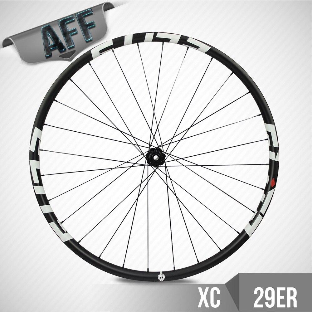 ELITE Bicicleta Aro 29 roues VTT 27mm largeur 23mm profondeur Tubeless avec moyeu DT350 Cross Country XC roues
