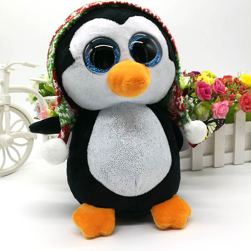 New TY Beanie Boos Cute BEAKS the colorful Toucan Plush Toys 6 15cm Ty Plush Animals Big Eyes Eyed Stuffed Animal Soft Toys for Kids Gifts