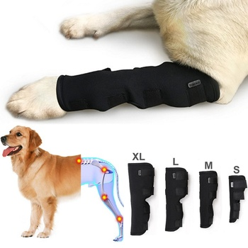 Pet Dog Knee Hock Brace Bandages Straps Dog Accessories