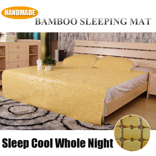 cool bed sheets for summer. Unique Bed Twin Size Handmade Pale Yellow Cooling Bamboo Mattress Pad Topper Cool  Summer Sleeping Mat Bed Sheet In Sheets For N