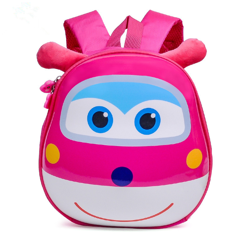 Hot Sale Cute Super Cartton Animal Kindergarten Boys and Girls School bag 2-5-7 Kanak-kanak Lembut Beg Murah Harga borong