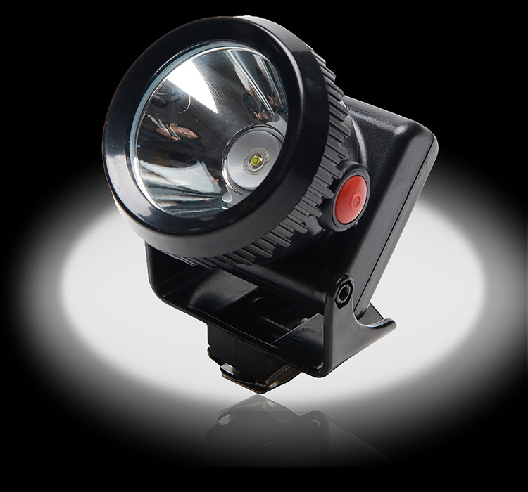 Купить с кэшбэком LED Headlight Mining Light Headlamp With Color Lens,Free Shipping