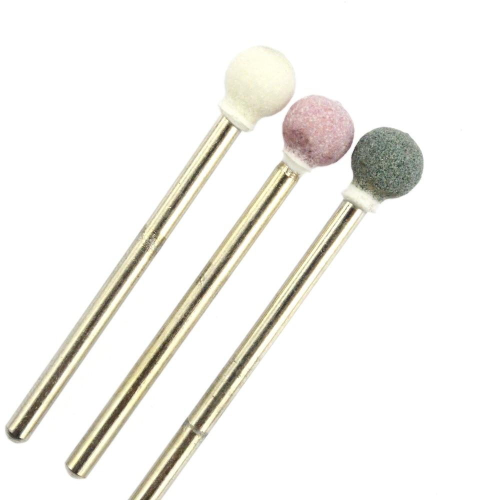 5pcs Ceramic Stone Nail Drill Bit 3/32\