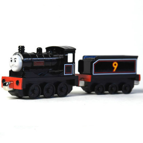 Donald With Tender--die-cast Trains Magnetic Connector Magnetic Tails The Tank Engine Trains Kids Toy For Kids Wide Selection; Diecasts & Toy Vehicles
