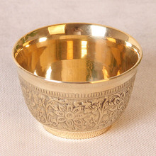 110 ml pure Copper teacups India cups