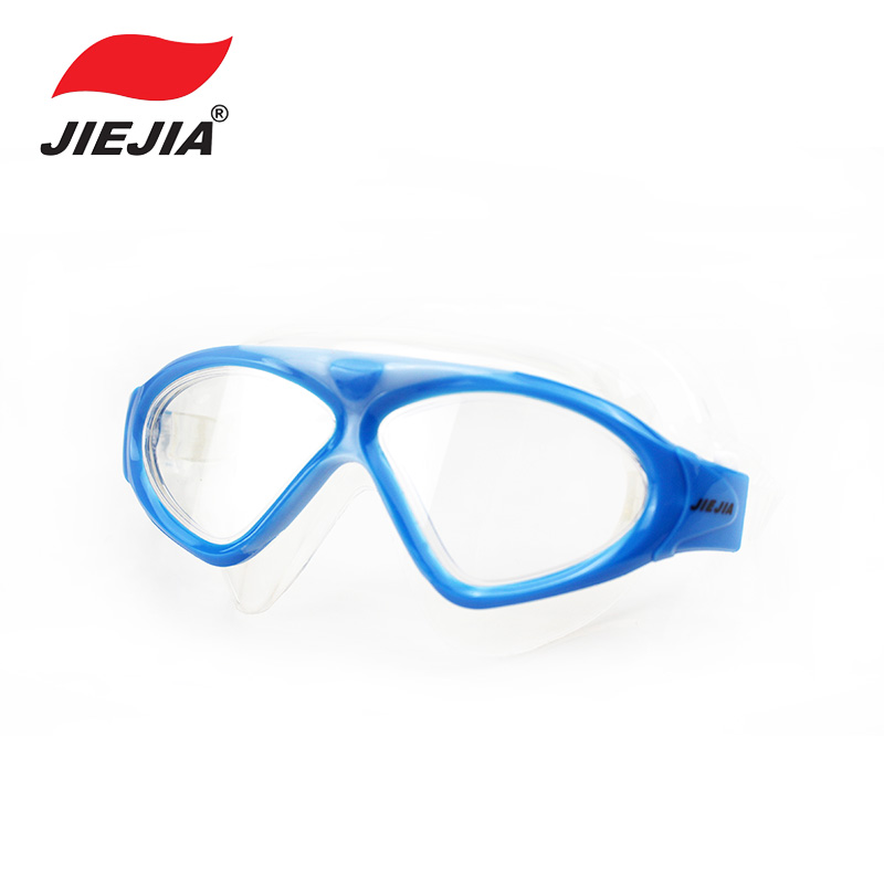 JIEJIA Glasses for Swimming Children Anti-ultraviolet Anti-fog Swim Glasses for Kids Pool Diving Swimming Goggles Adult