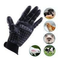 Huisdier deshedding grooming borstel Handschoenen Paard Rubber Baden Ontharing Handschoenen Borstels Bathing Grooming Handschoenen voor hond en katten