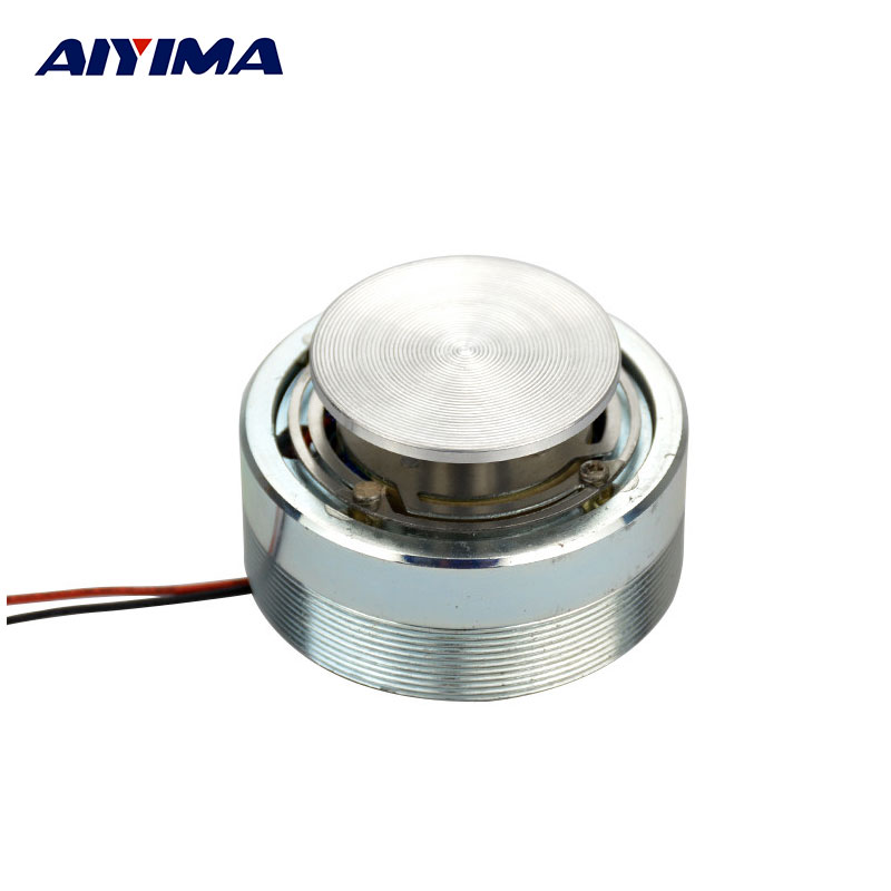 1Pc AIYIMA 2Inch Resonance Speaker Vibration Strong Bass Louderspeaker Semua Frekuensi Speaker Horn 50mm 4 Ohm 25 W