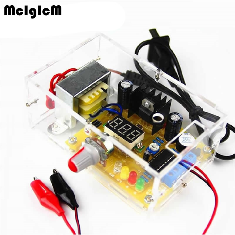 DIY kit LM317 adjustable voltage power electronic parts and electronic training kit DIY multi function power production