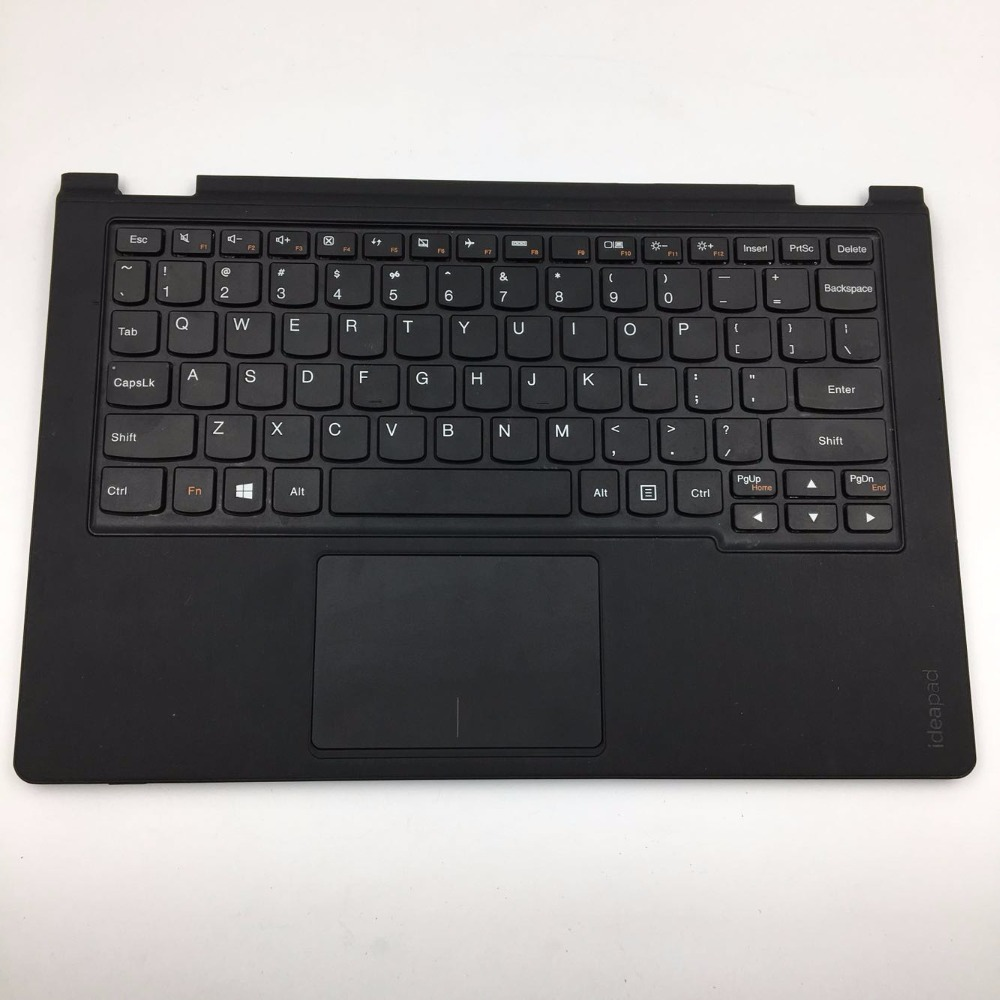 New Origianl for Lenovo Yoga 11S US Keyboard & Bezel Palmrest Cover Upper Case with Touchpad AP0T4000400 25210801 стоимость