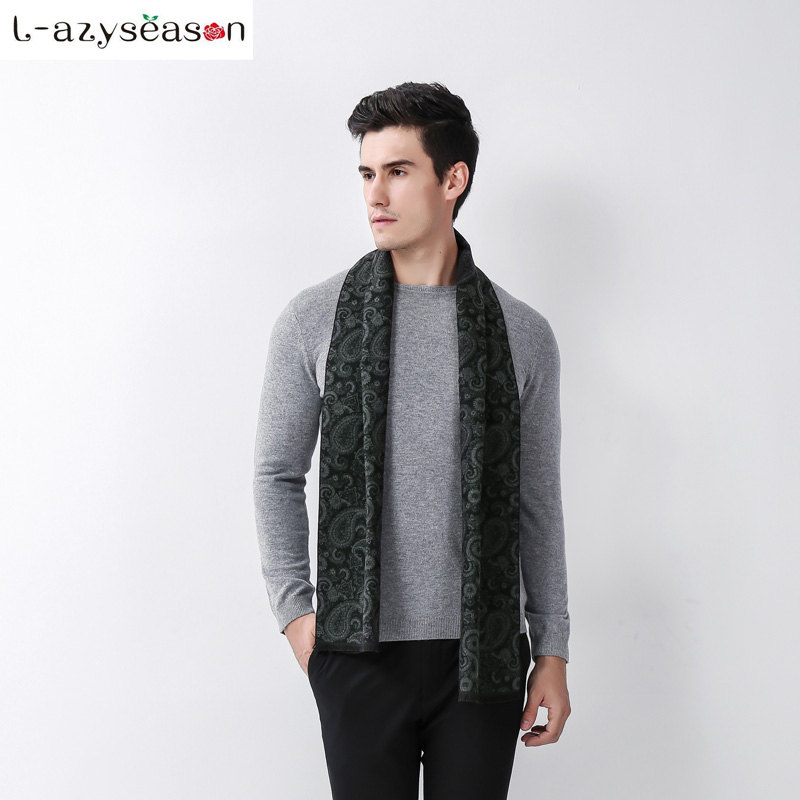 2018 New Arrival Mens Scarf British Cashmere feeling Scarves for men male Winter Warm Muffler Collar Neckerchief Wraps Shawl