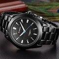 Curren relojes de los hombres de primeras marcas de lujo reloj de pulsera de cuarzo militar del ejército relojes de acero de los hombres ocasionales masculinos deporte de los hombres clásicos reloj
