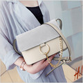 2017 new style pu leather all match zipper chains bags for women brand women crossbody bags cute shoulder women messenger bags