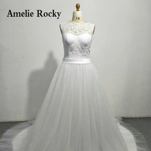 30eb0822017 Robe De mariée Simple dentelle Boho Chic robe De mariée faite en chine robes  De mariée