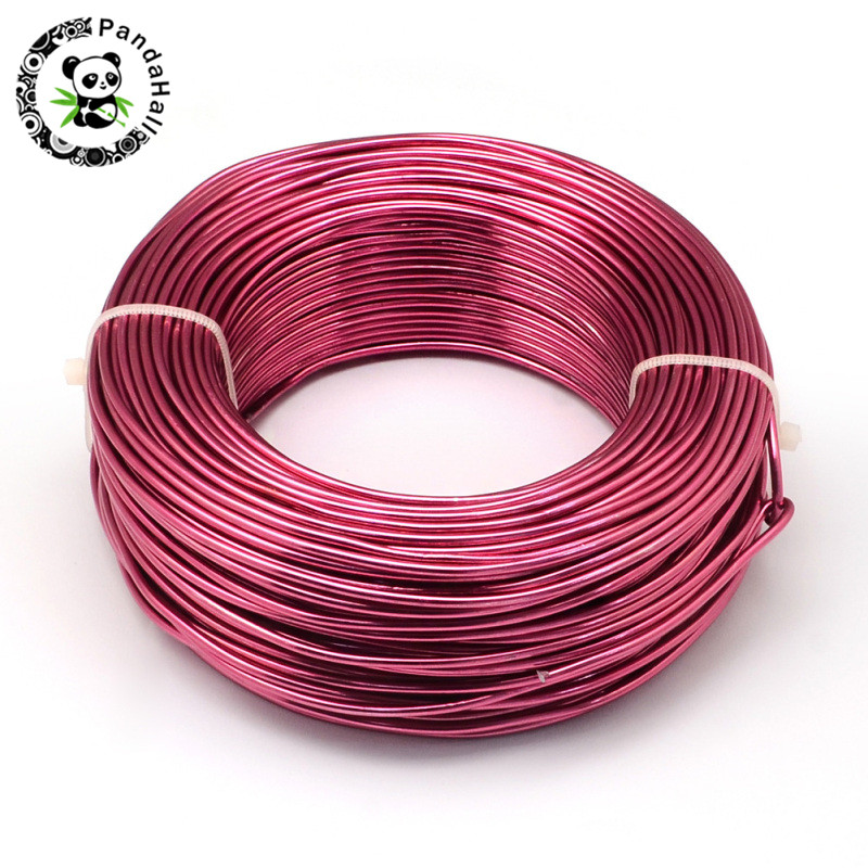 pandahall 25m/Roll 3mm Colored Aluminum Wire for Jewelry Making DIY Metal Craftspandahall 25m/Roll 3mm Colored Aluminum Wire for Jewelry Making DIY Metal Crafts