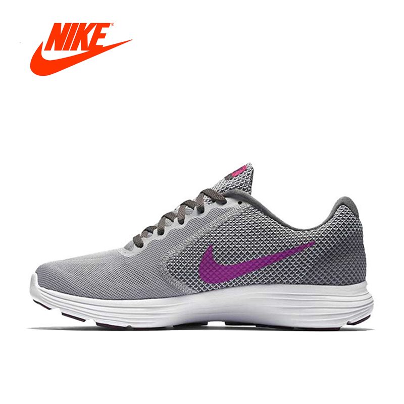 Original New Arrival Official Nike REVOLUTION 3 Breathable Women's Running Shoes Sports Sneakers Outdoor Classic все цены