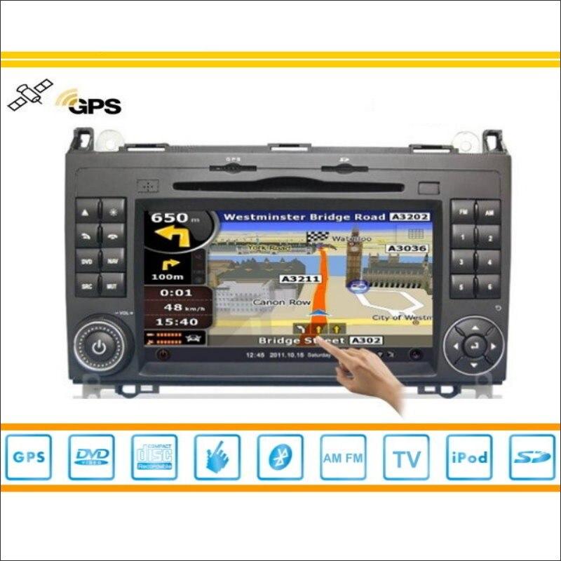 Car Multimedia Android Para Mercedes Benz W169/W245 B CD Dvd GPS Navi Mapa de Na