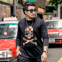Plus Size Long Sleeve T Shirt For Men 2018 Spring And Autumn Nutty Large Size Male