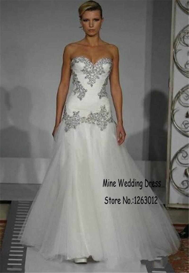 Popular Drop Waist Bridal Gowns-Buy Cheap Drop Waist Bridal Gowns ...