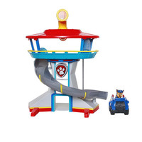 Genuine Original Paw Patrol Dog Puppy Patrol Car Parking Lot Toy Set Action Figure Patrulla Canina Kids Toys Children Gifts