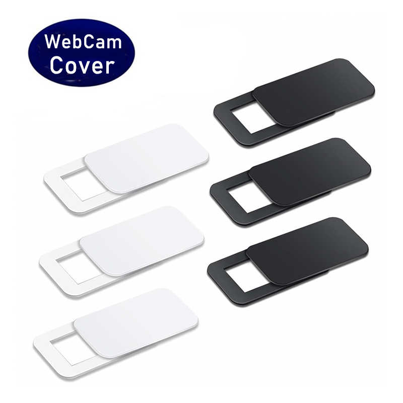 WebCam Cover Shutter Magnet Slider Plastic Universal Camera Cover For iPad PC Macbook Web Laptop Tablet Privacy Sticker