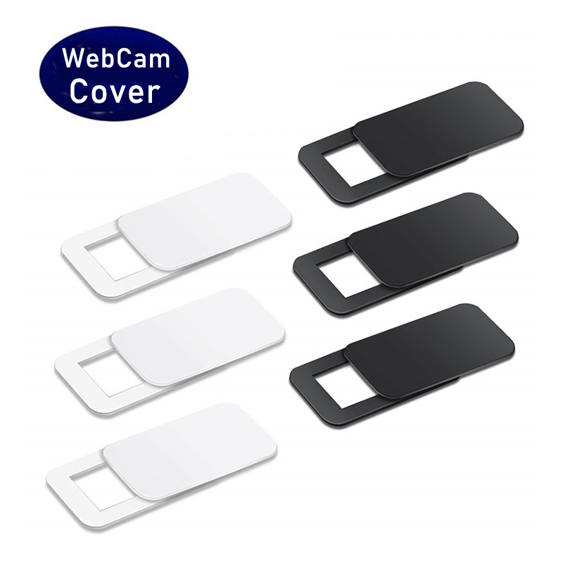 WebCam Cover Shutter Magnet Slider Plastic Universal Camera Cover For iPad PC Macbook Web Laptop Tablet Privacy Sticker image
