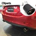 1 шт. выхлопные трубы глушителя для автомобиля Akrapovic Buick Fiat Citroen C4 C2 Mitsubishi Mazda 3 6 2 Hyundai solaris i30