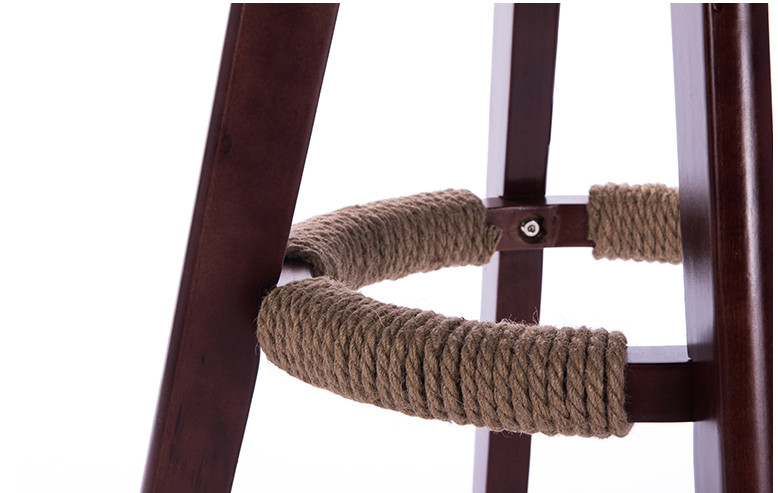 Altezza seduta cm girevole in legno sedia sgabello da bar in