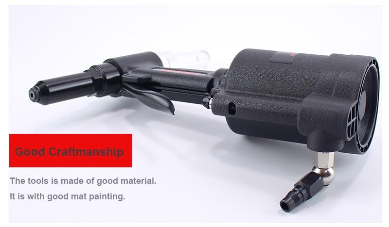 Aukštos kokybės galingi pramoniniai 3,2–6,4 mm pneumatinės - Elektriniai įrankiai - Nuotrauka 6