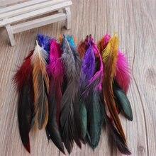 de alta calidad BRICOLAJE tinte pluma faisan 50 raiz la venta 12.5-20 cm/5-8