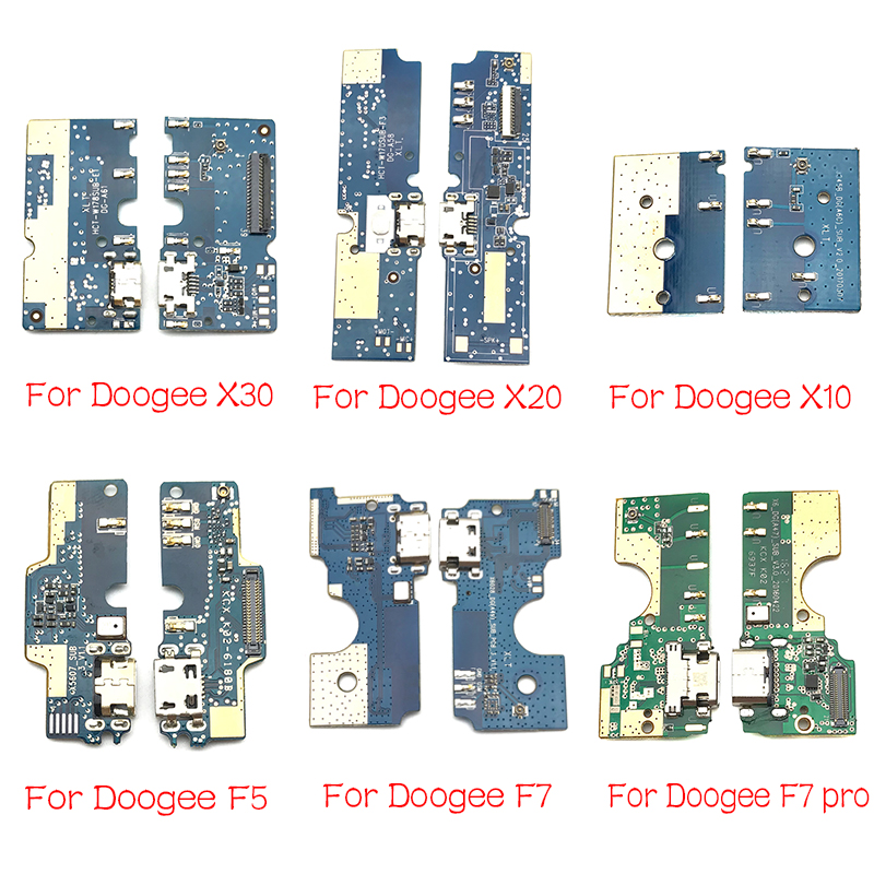 USB Charging Port Dock Charger Plug Connector Board Flex Cable For Doogee DG280 F5 S60 X10 X20 X30 X60L Y8 F7 Pro Mix 2 Parts